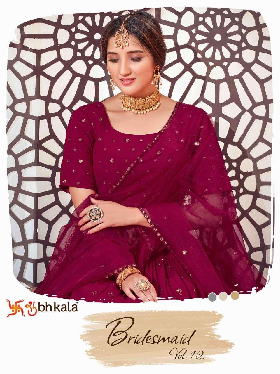 Shubhkala Bridesmaid Vol. 12 Exclusive Designer Bridal Lehenga Choli