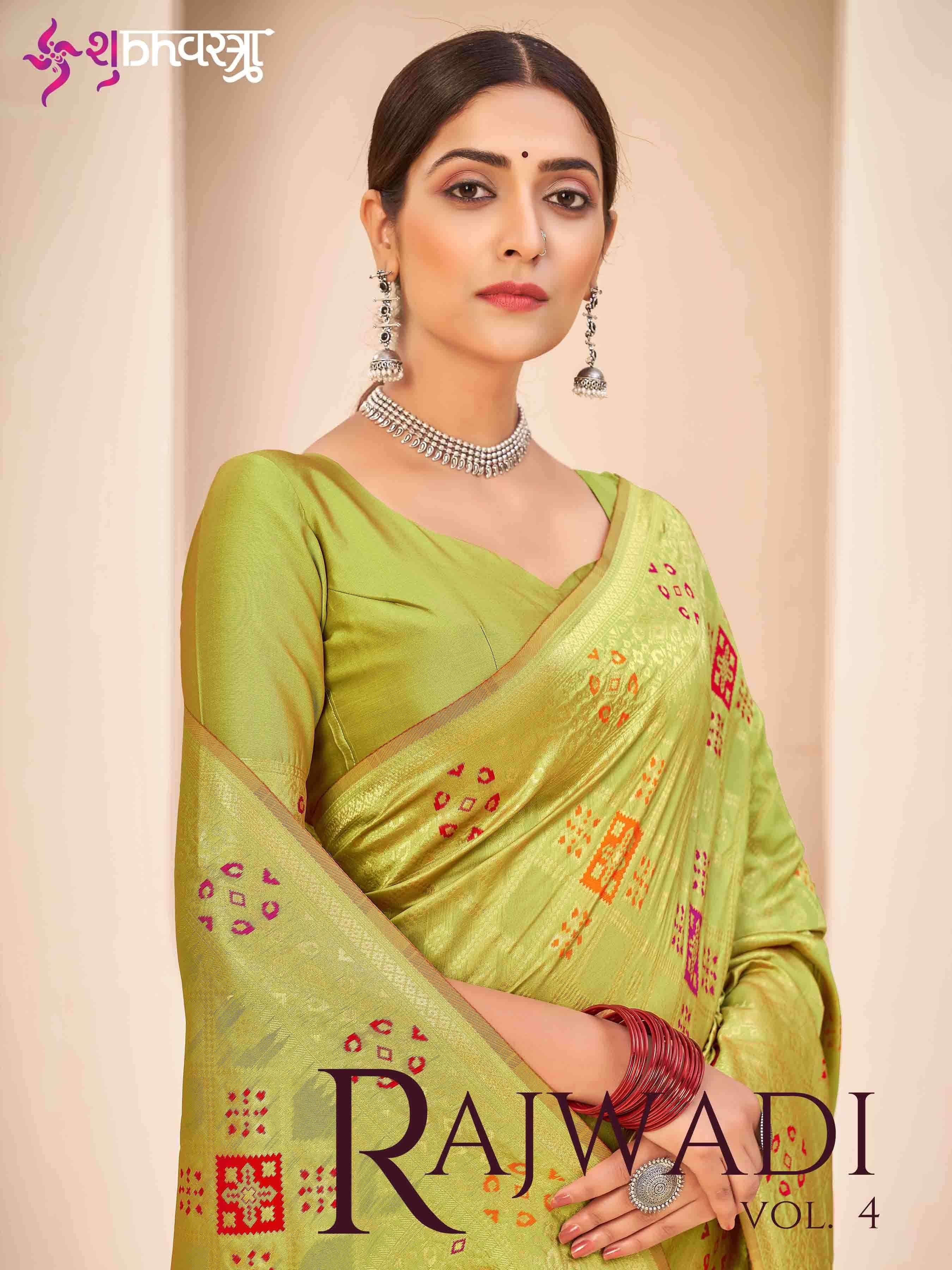 Shubhkala By Rajwadi Vol. 4 Designer Exclusive Banarasi Silk Saree Collection