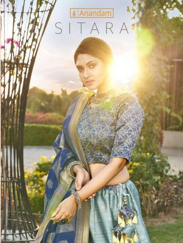 Sitara By Anandam Silk Designer Lehenga Exports