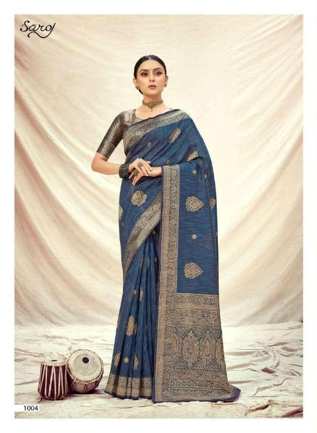 Sofia By Saroj Banarasi Silky Designer Saree