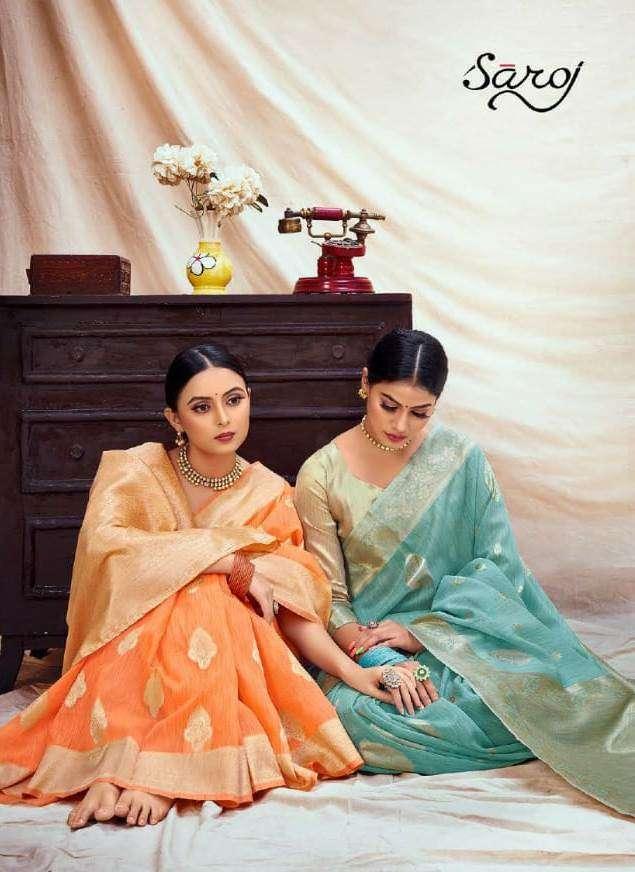 Sofia Vol 2 Banarasi Silk Traditional Wear Sarees By Saroj