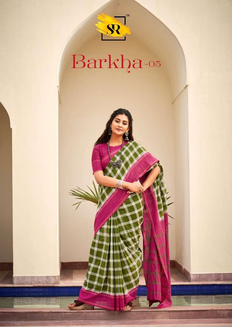 Sr Barkha Vol 5 Mulmul Cotton Sarees Wholesale Dealer