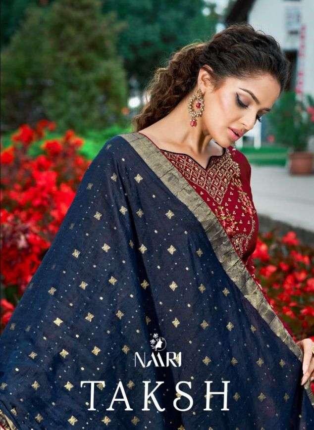 Taksh By Naari Elegant Salwar Kameez Design Exports
