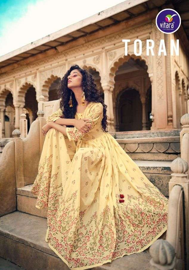 Toran By Vitara Readymade Fancy Gown Authorized Supplier