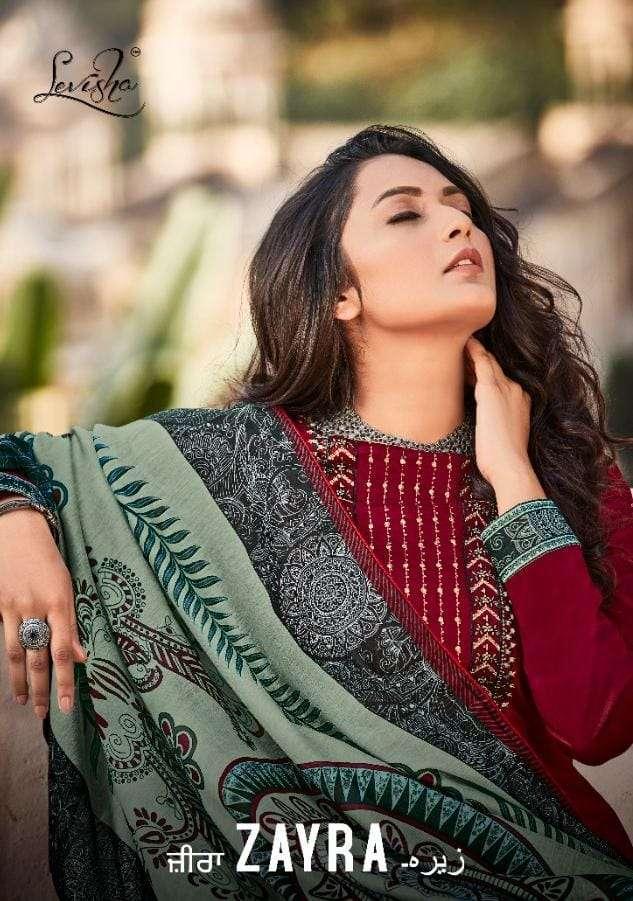 Zayra Pure Cotton Casual Wear Salwar Kameez By Levisha