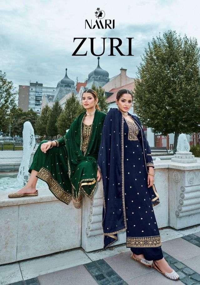 Zuri By Naari Silk Classy Fancy Suits Wholesaler