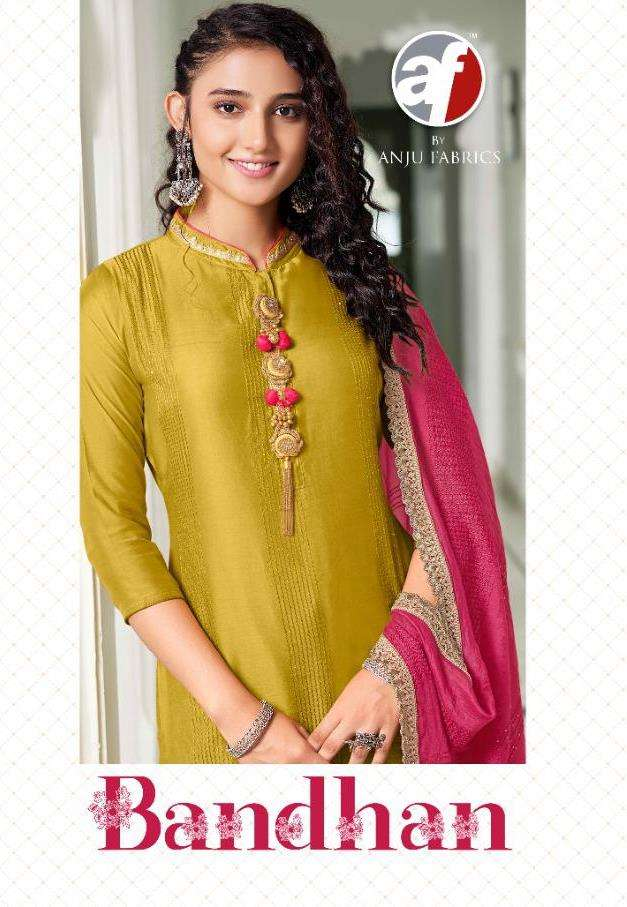 A F kurti introduce new stylish collection bandhan designer kurti with dupatta for diwali