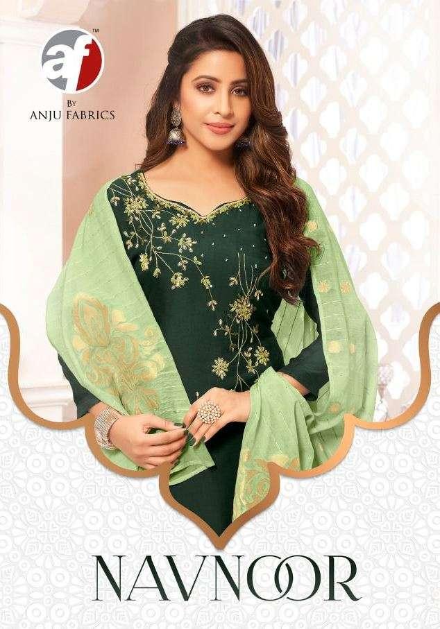 A F kurti launch new stylish collection navnoor designer kurti pant with dupatta