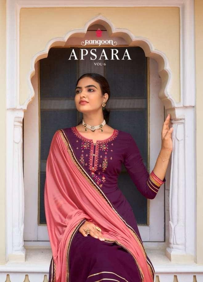 apsara vol 6 by rangoon readymade traditional wedding salwar kameez