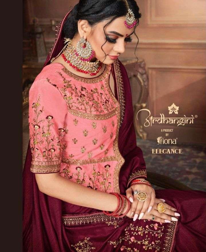 ardhangini elegance 1501-1507 series rich pallu work sarees supplier