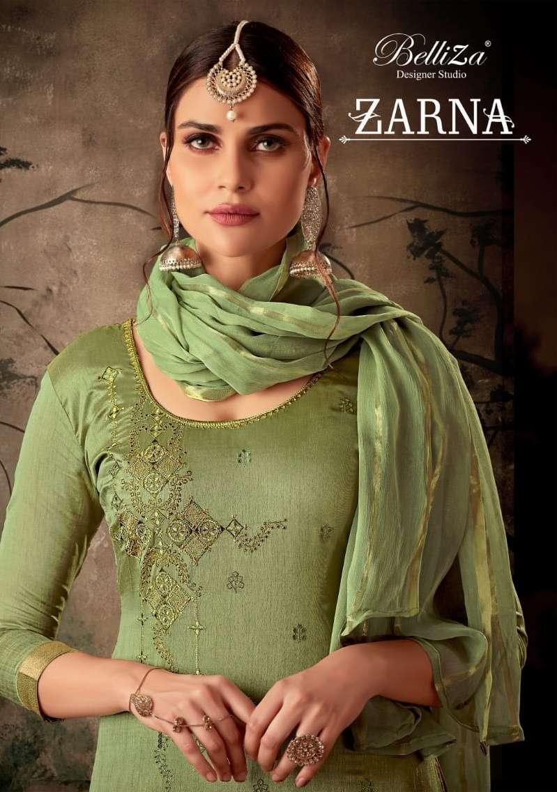 belliza zarna silk jacquard embroidery salwar kameez