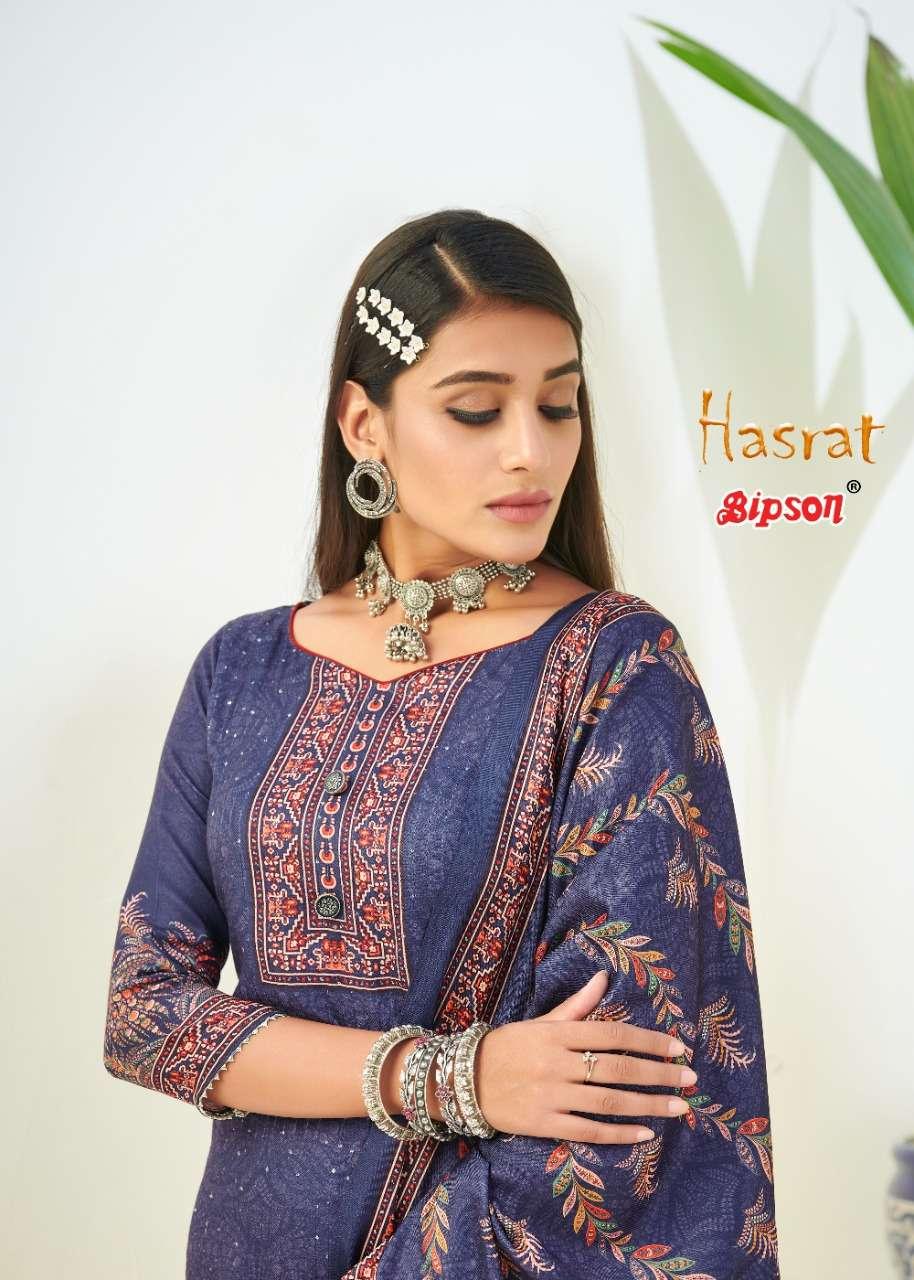 bipson hasrat 1553-1556 series pashmina winter dress materials