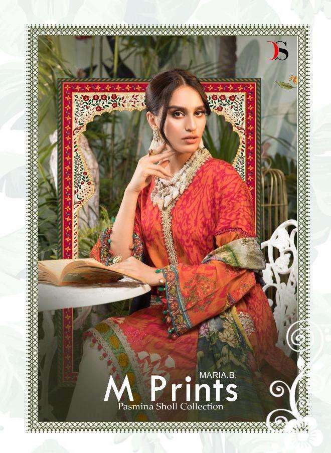 deepsy maria b m prints pashmina by deepsy suits winter wear pakistani dresses
