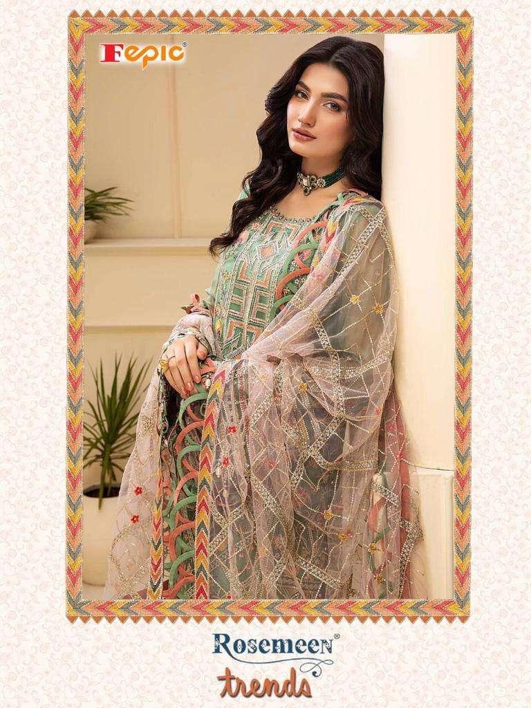 fepic rosemeen trends elegant look pakistani fancy salwar kameez