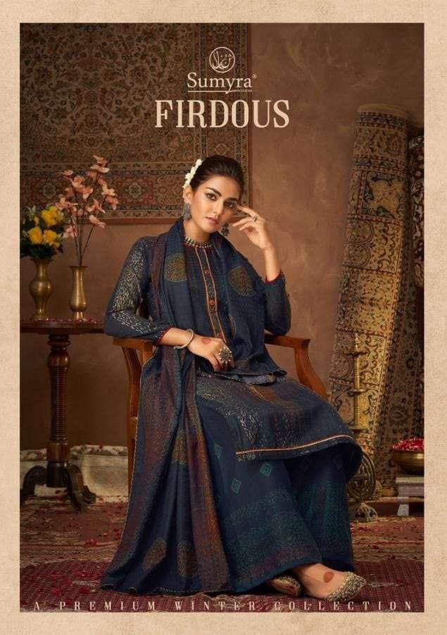 firdous by radhika pashmina winter casual salwar kameez
