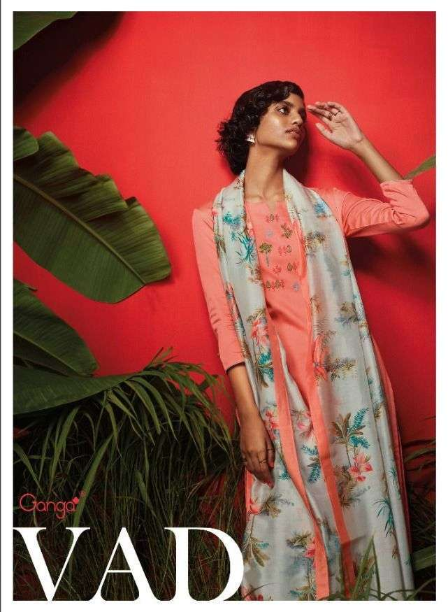 ganga launch vad cotton satin indian fancy salwar kameez
