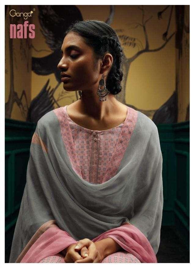 ganga nafs premium wool designer indian dresses supplier