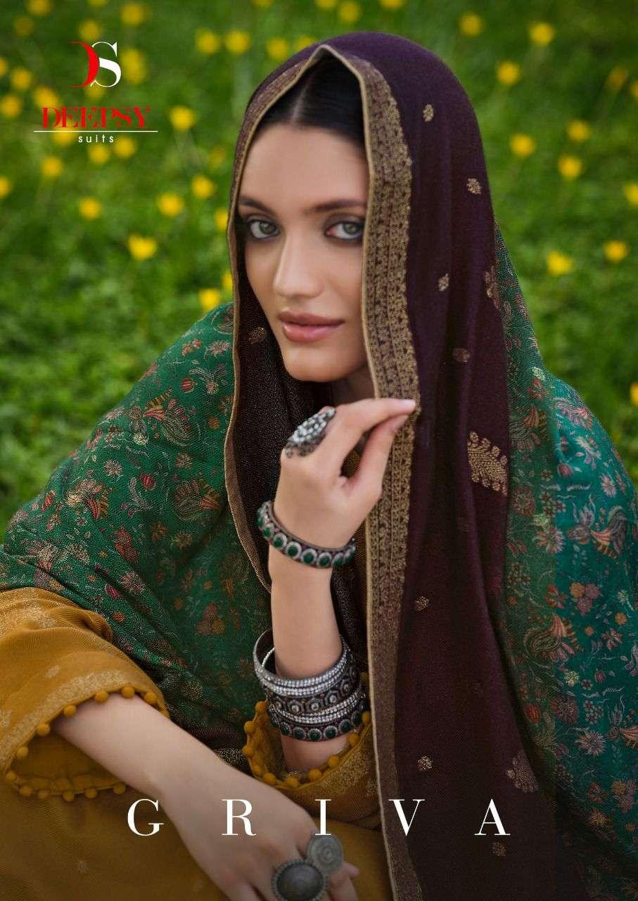 griva by deepsy viscose pashmina winter dresses wholesaler