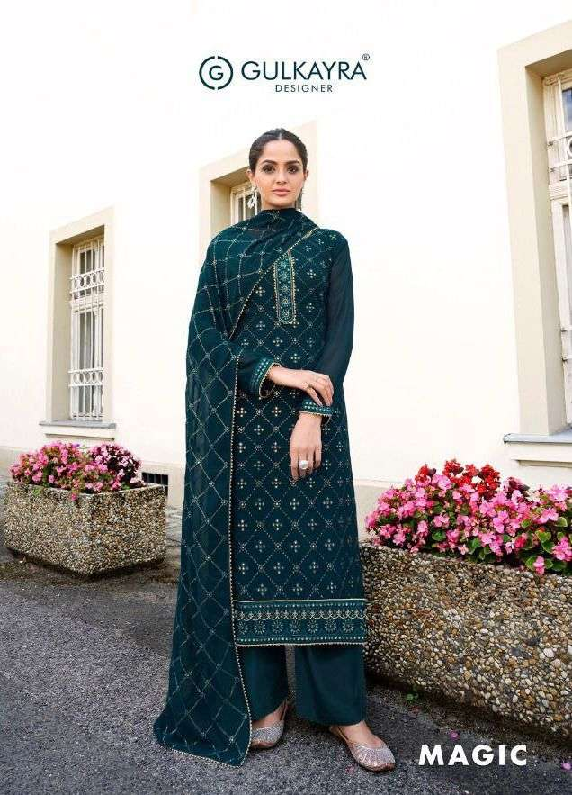 gulkayra magic georgette designer dresses for women