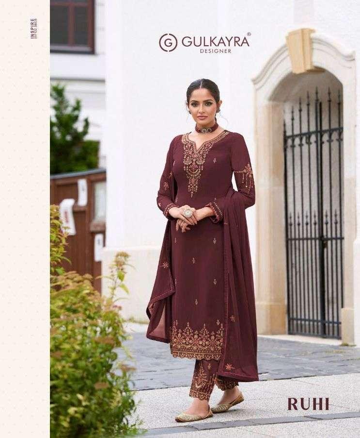 gulkayra ruhi georgette designer dresses for women