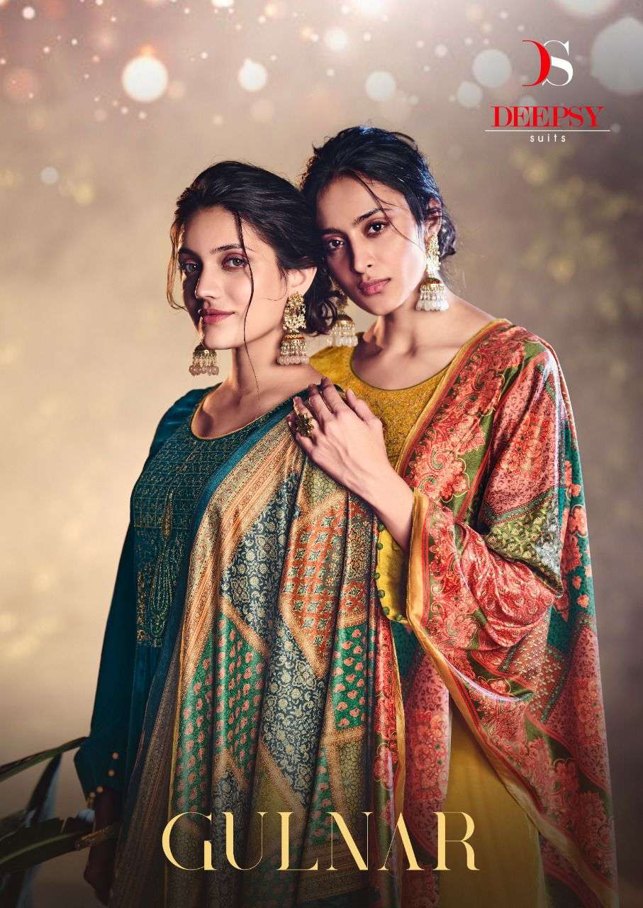 gulnar by deepsy velvet embroidery winter dresses supplier