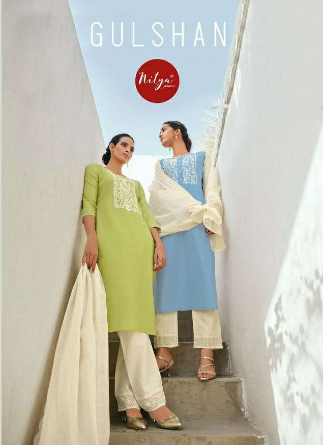 gulshan by lt nitya cotton readymade salwar suit online supplier