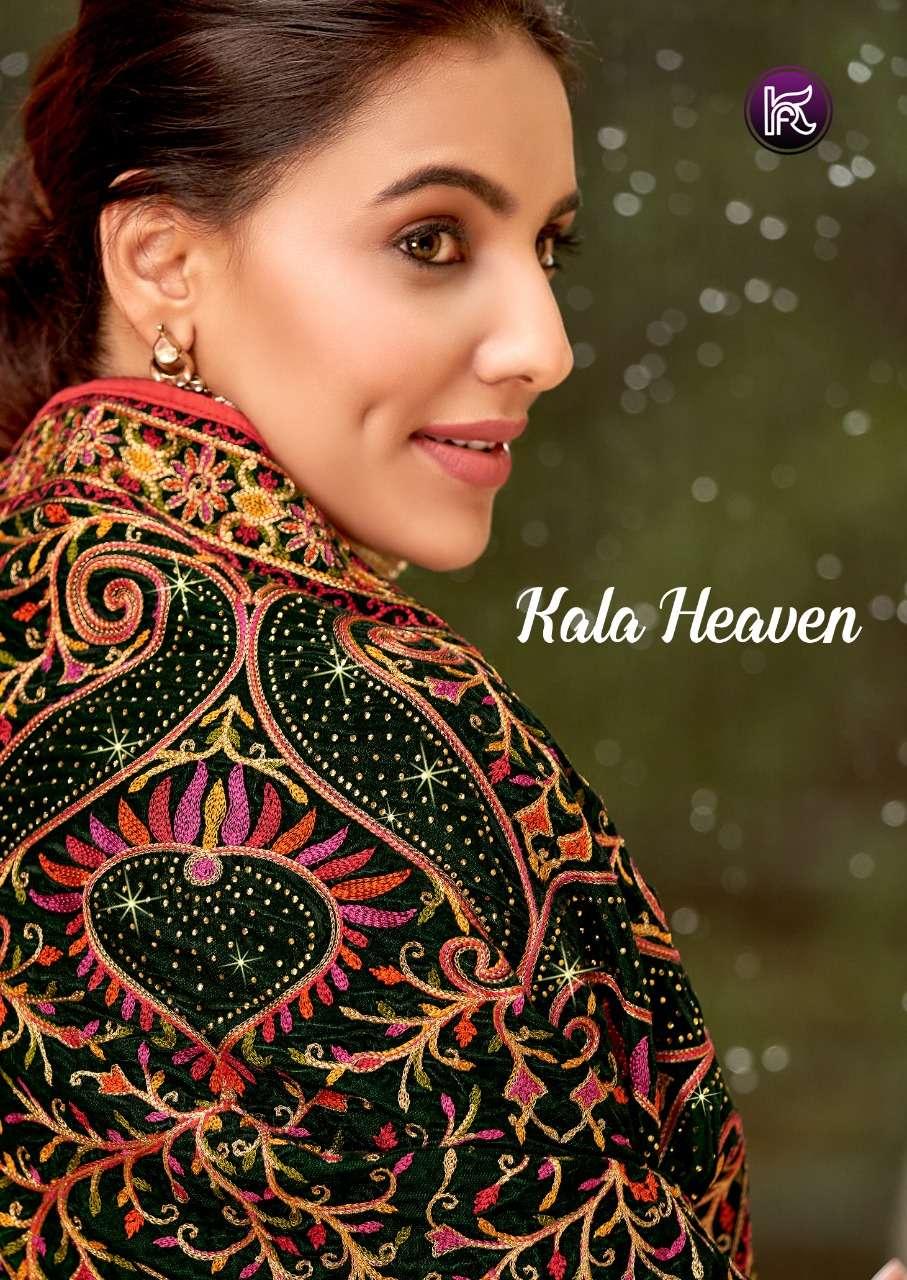 kala fashion launch kala heaven designer velvet winter wear pashmina salwar kameez