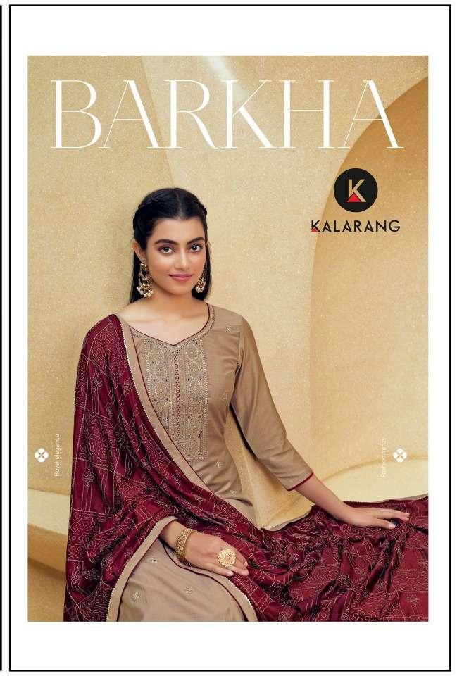 kalarang barkha silk ethnic fancy dresses supplier
