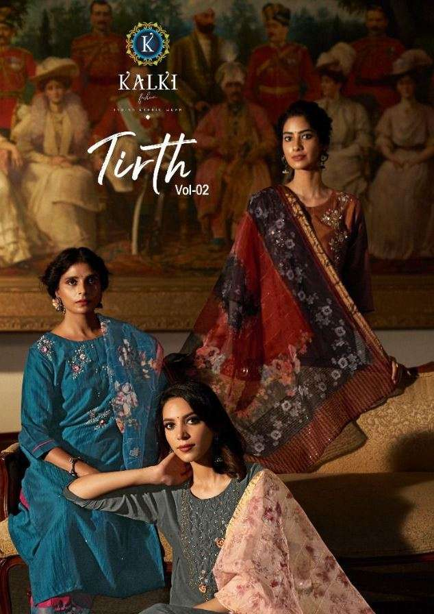 kalki trendz tirth vol 2 readymade ethnic suits collection for festival season