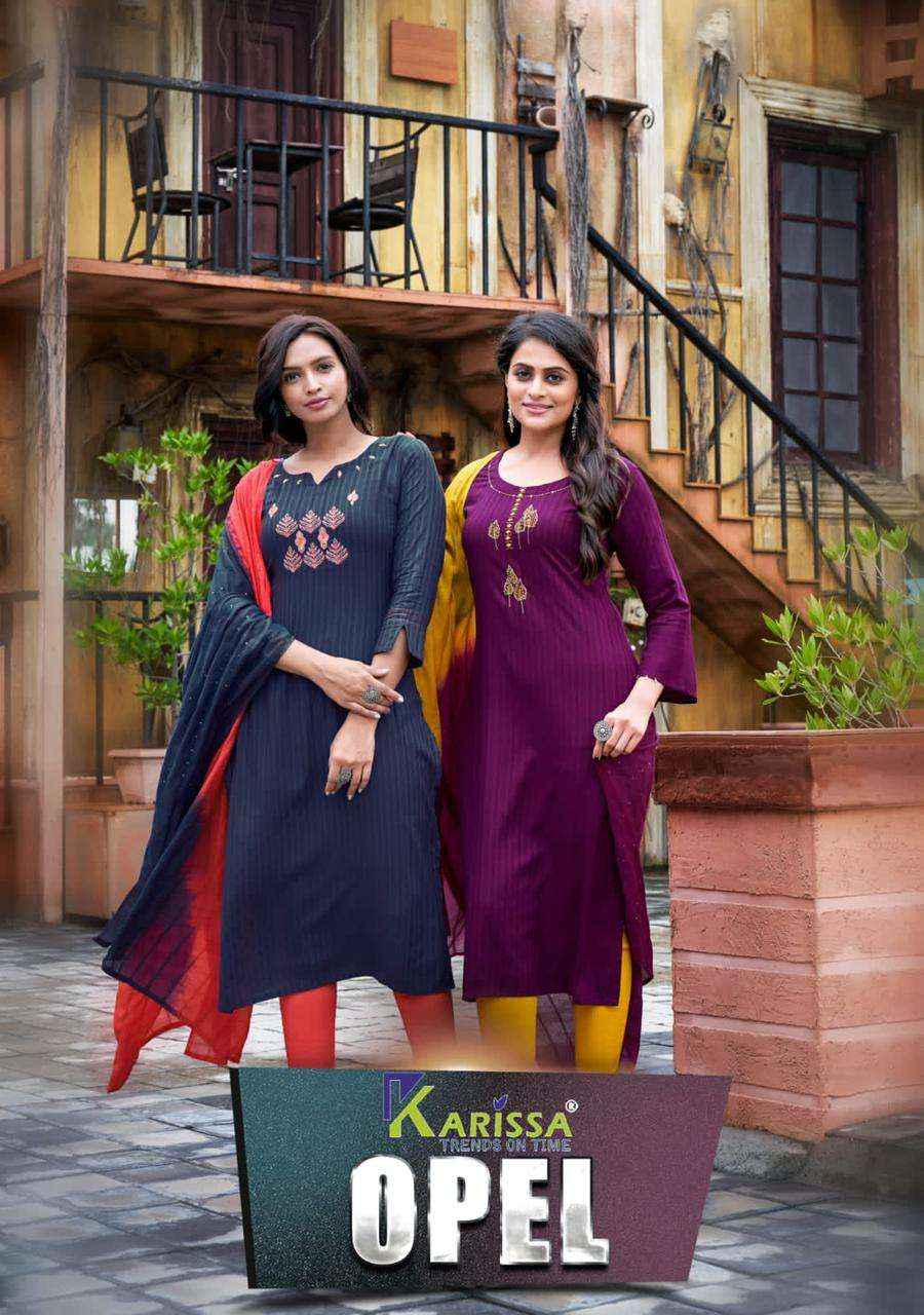 karissa opel readymade casual wear ladies salwar kameez