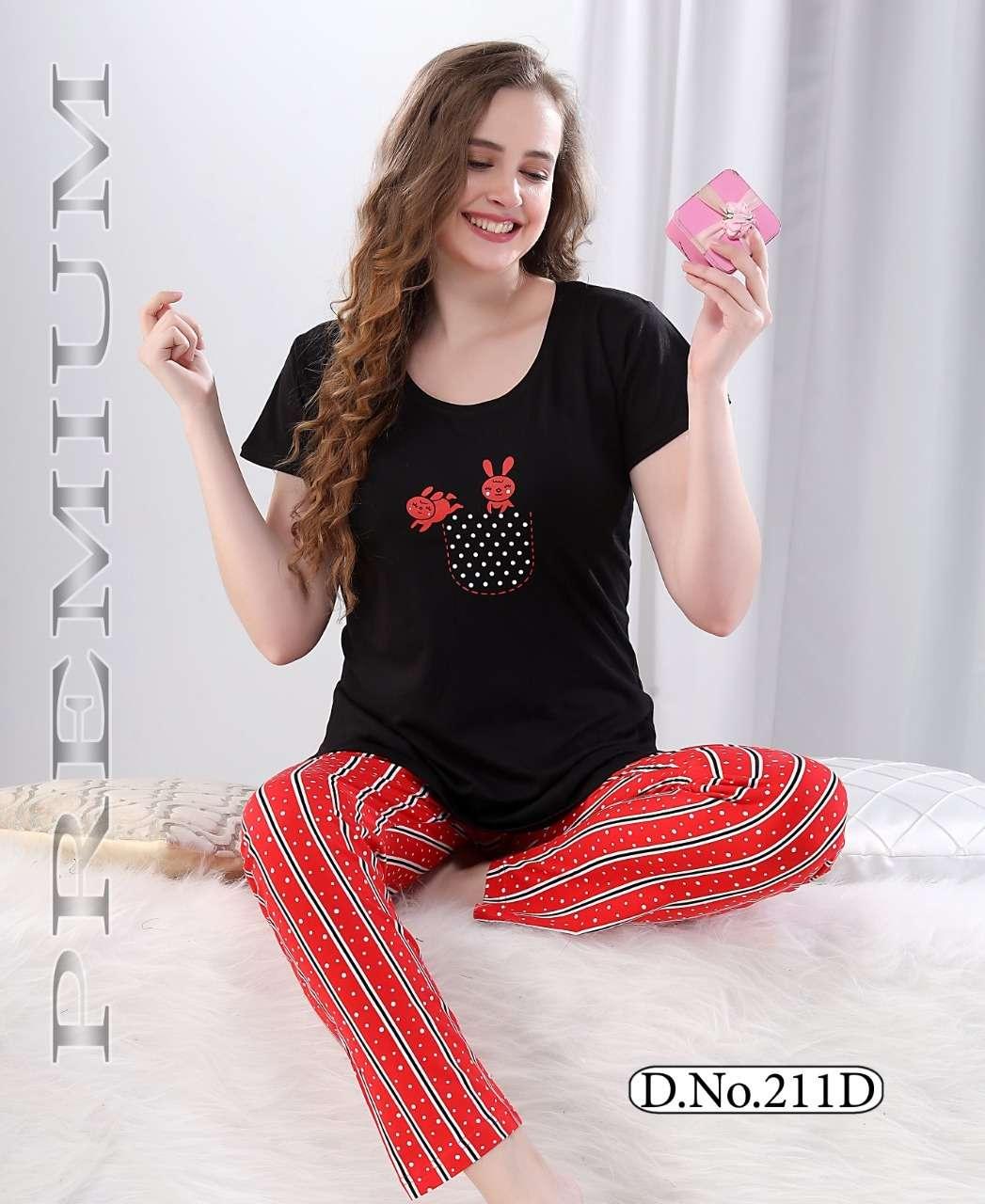 kavyansika vol 211 cotton ladies night suit collection