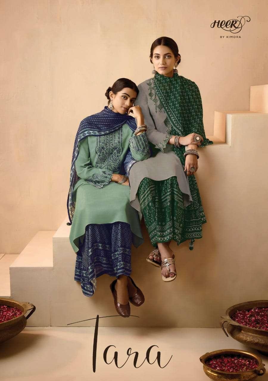 kimora tara pashmina exclusive designer salwar kameez