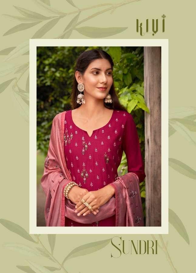 kivi sundri rayon embroidery readymade salwar kameez