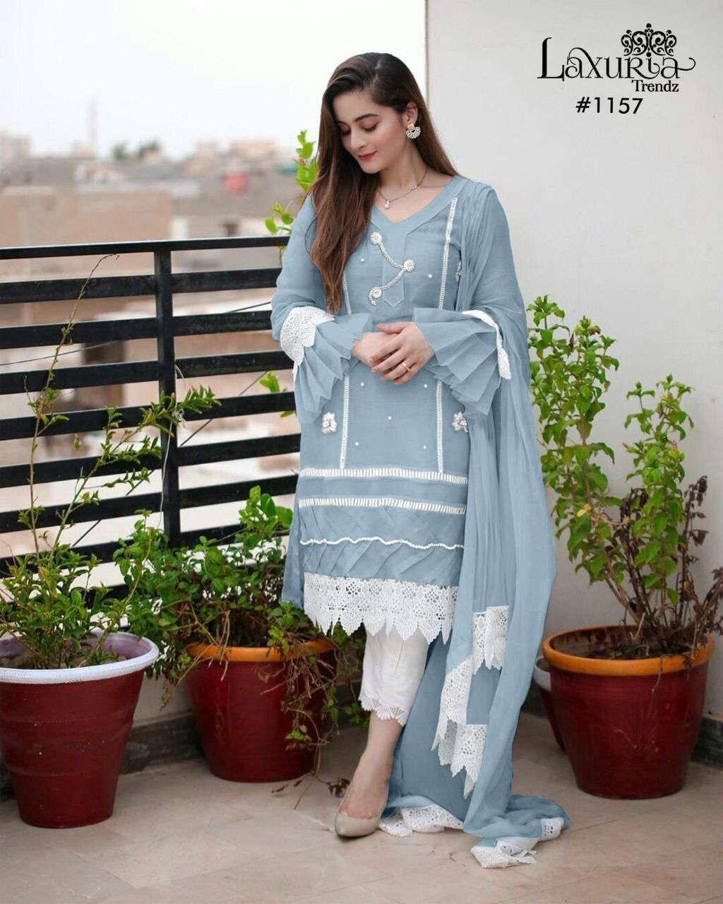 laxuria trendz 1157 readymade pakistani designer salwar kameez