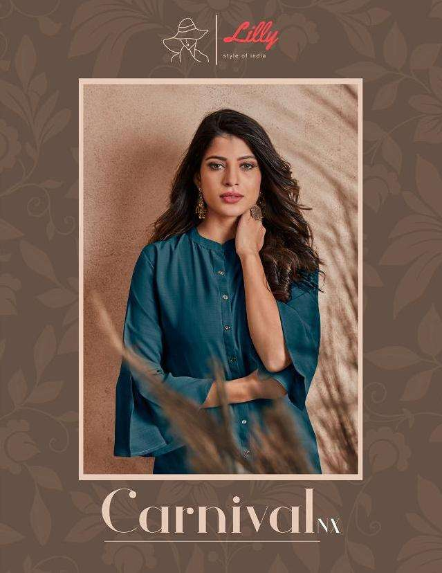 lilly style of india carnival nx readymade kurtis supplier