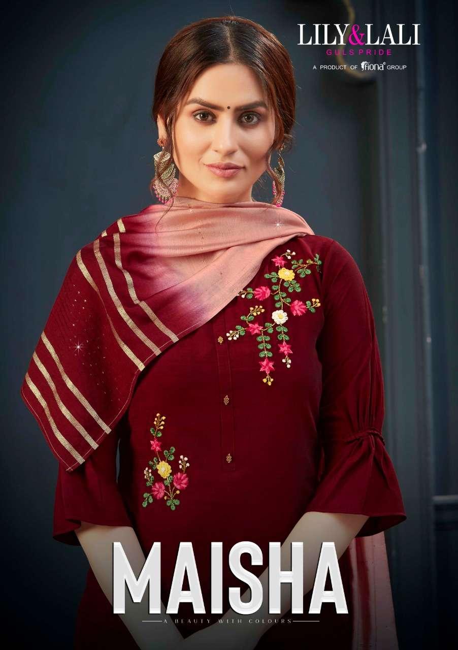 lily and lali maisha handwork designer readymade dresses for women