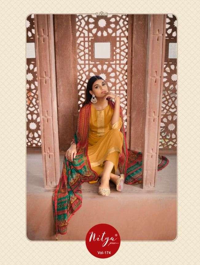 lt nitya 174 74001-74007 series exclusive fancy salwar suits wholesale price