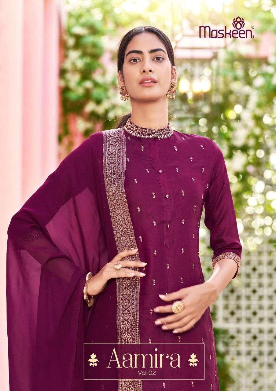 maskeen aamira vol 2 3146-3151 series beautiful readymade dresses for women