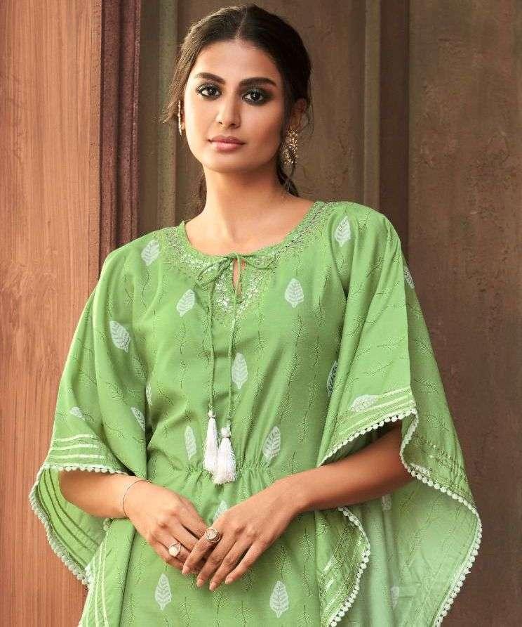 maskeenji samaira pure silk kurti with bottom pant supplier