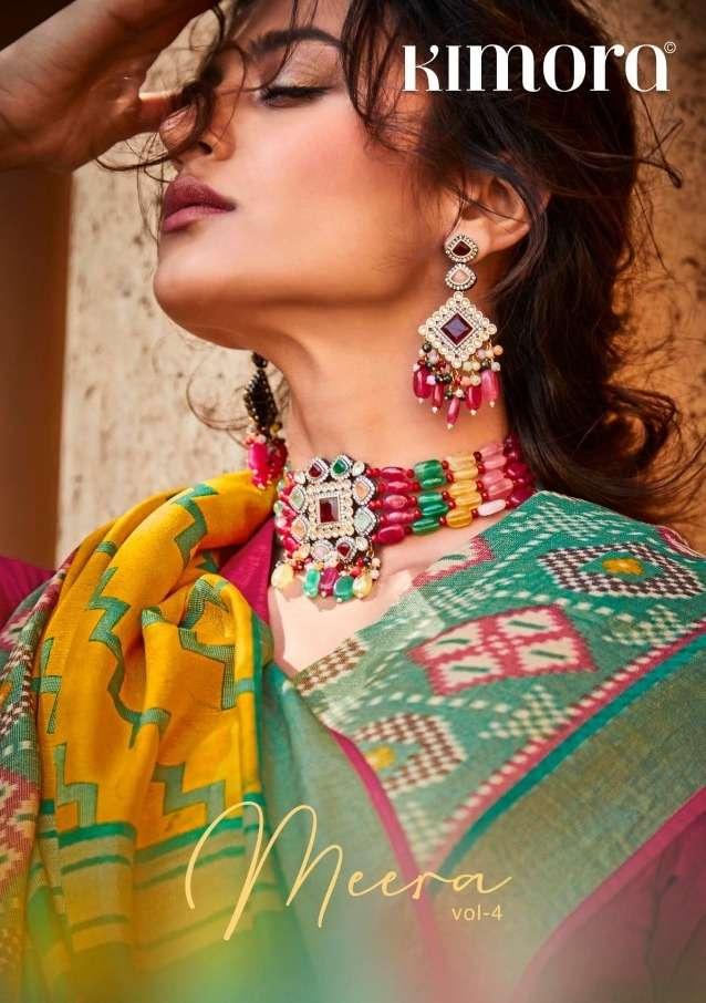 meera vol 4 by kimora brasso designer fancy sarees