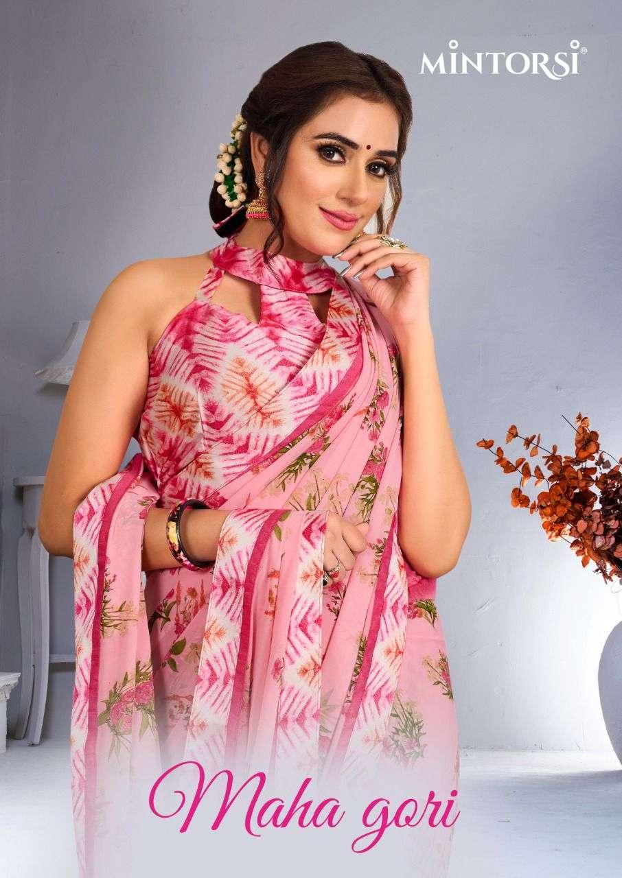 mintorsi maha gori series 25421 to 25430 weightless printed fancy sarees