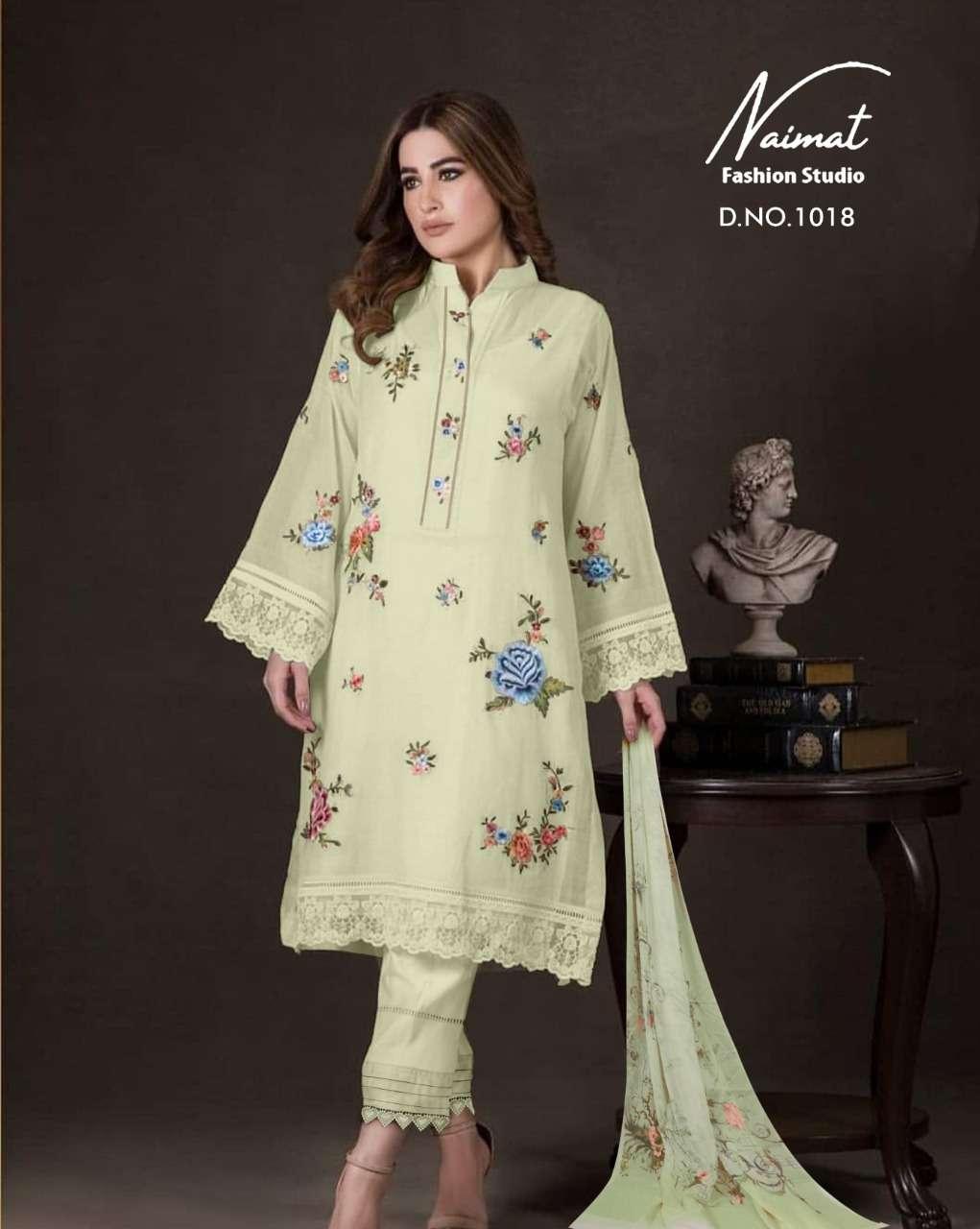 naimat 1018 georgette elegant readymade pakistani suits