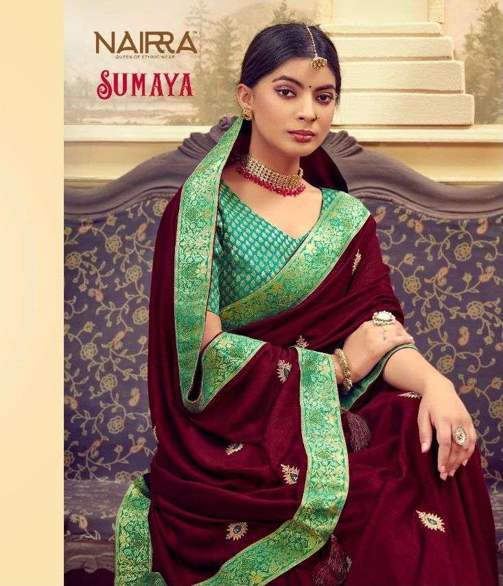 nakkashi nairra sumaya series 1102 to 1107 vichitra silk sarees collection