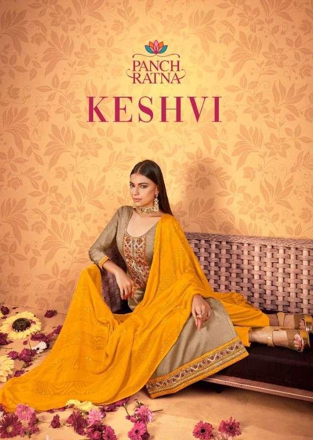 panch ratna keshvi jam silk daily wear fancy dress materials