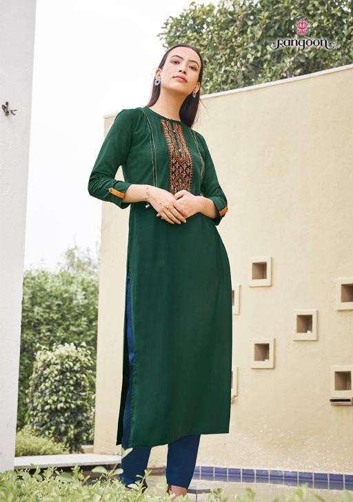park vol 3 by rangoon rayon daily wear kurtis wholesale price seller