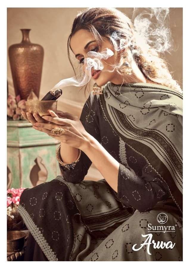 radhika arwa pashmina winter dress materials