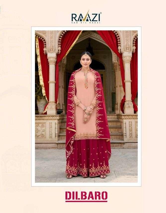 rama raazi dilbaro vol 3 plazzo style designer party wear dresses