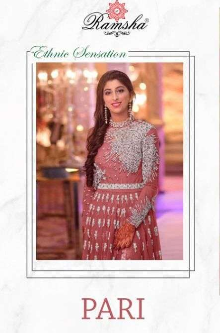 ramsha pari net embroidery designer salwar kameez