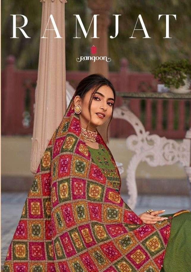 rangoon ramjat series 3321 to 3328 readymade designer dresses for women