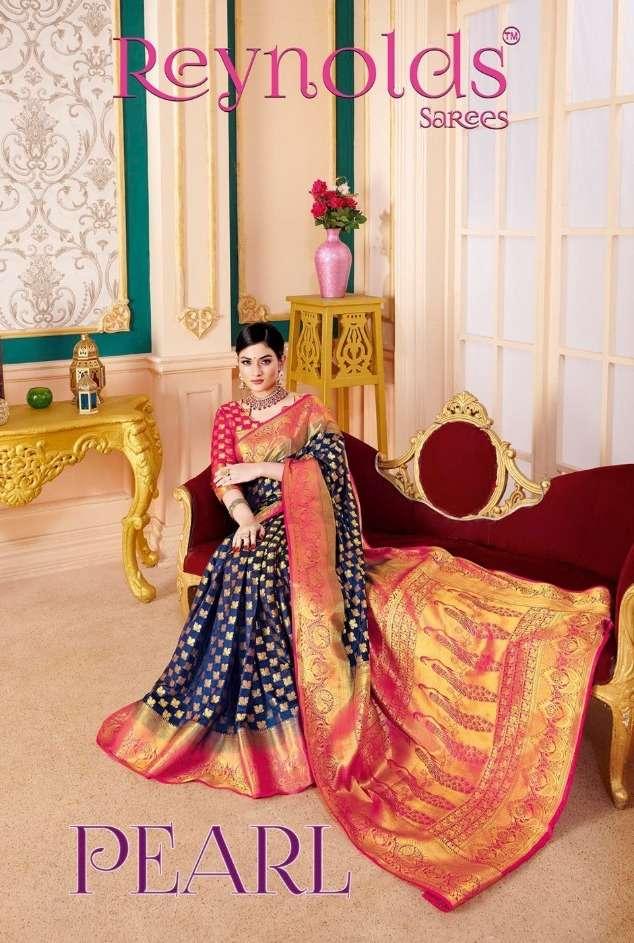 reynolds sarees pearl authorized silk sari wholesaler in surat